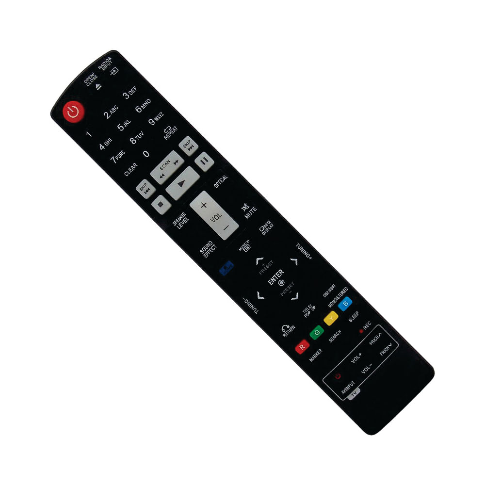 Controle Remoto Home Theater / Blu - Ray LG AKB72976001