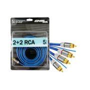 4645-Cabo-2-Rca---2-Rca-Azul-ComFio-Terra-5-Metros-Profissional