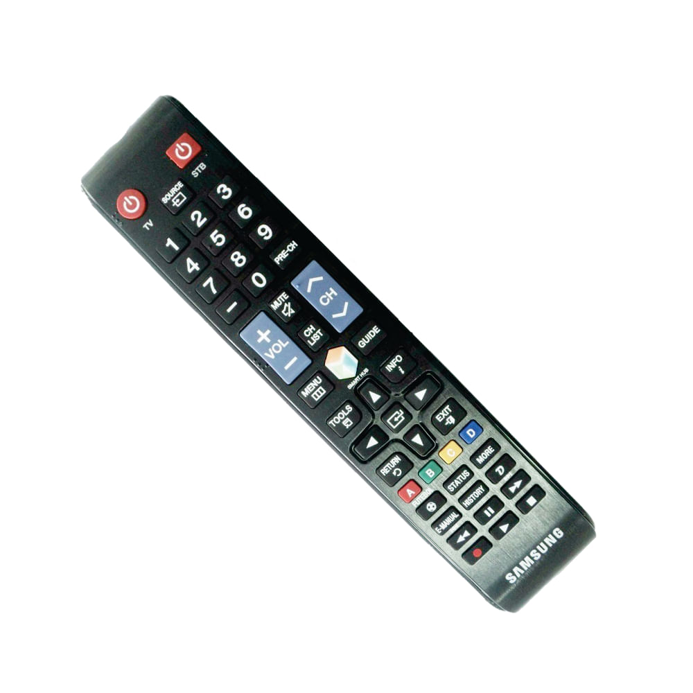 Controle Remoto Tv Samsung Smart Hub Original Solacessorios